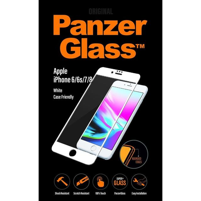 PanzerGlass Case Friendly Screen Protector (iPhone 6/6S/7/8)