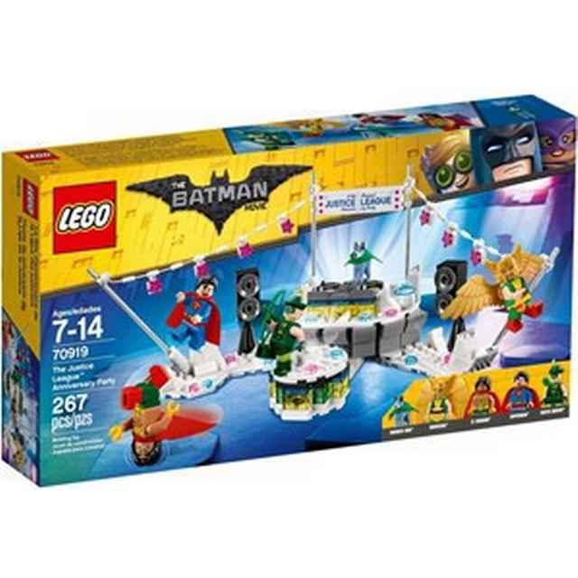 Lego The Batman Movie The Justice League Anniversary Party 70919