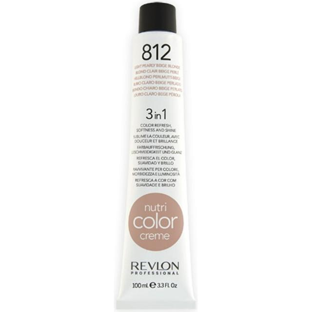 Revlon Nutri Color Creme #812 Light Pearly Beige Blonde 100ml