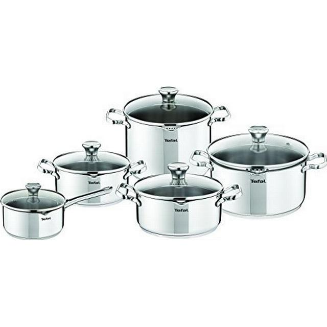 Tefal Duetto Set with lid 3 parts