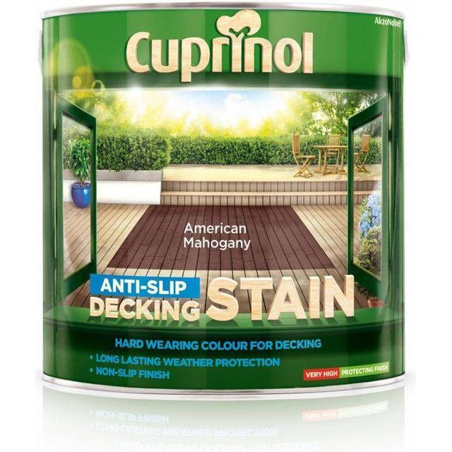 Cuprinol Anti Slip Decking Woodstain Grey 2.5L