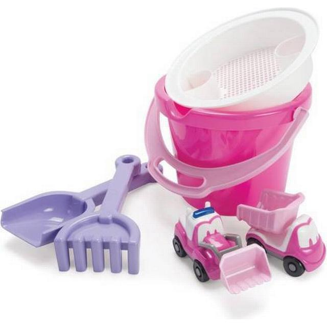 Dantoy My Little Princess Bucket Set with 2 Vehicles in Net 1432