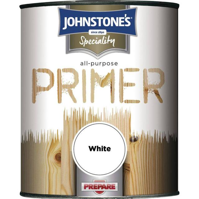 Johnstones Speciality All Purpose Primer Wood Paint, Metal Paint White 0.75L