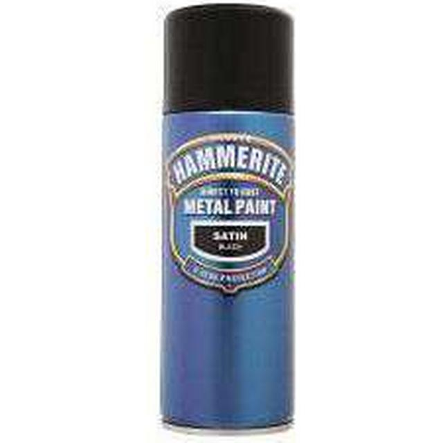 Hammerite Direct to Rust Metal Paint Black 0.4L
