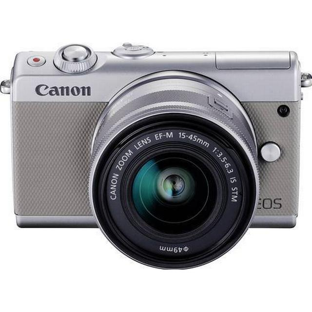 Canon EOS M100 + 15-45mm IS STM + 22mm STM