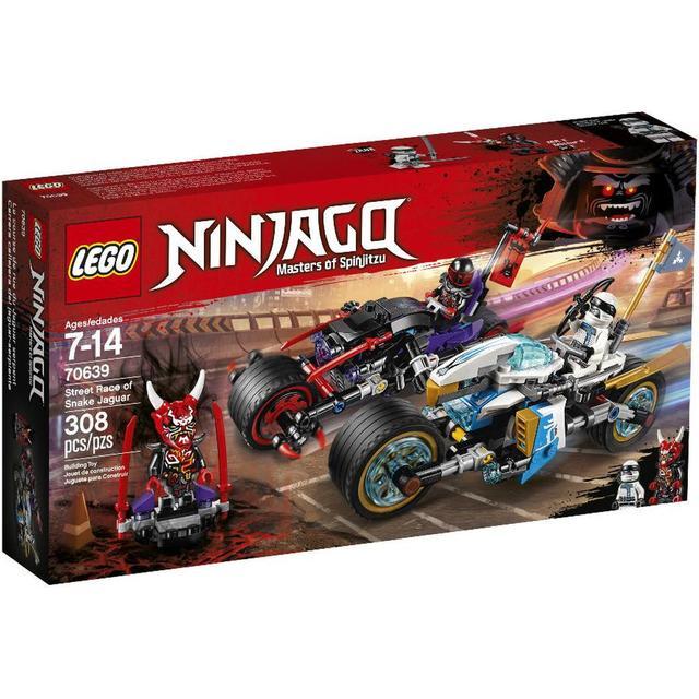 Lego Ninjago Street Race of Snake Jaguar 70639