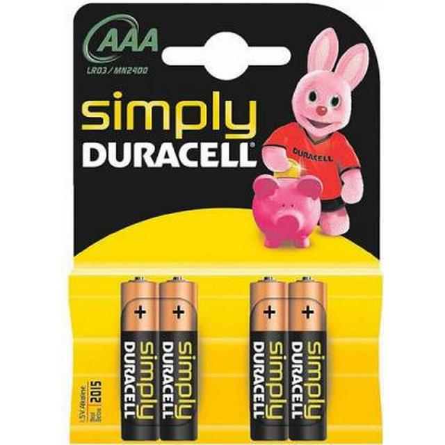 Duracell AAA Simply Compatible 4-pack