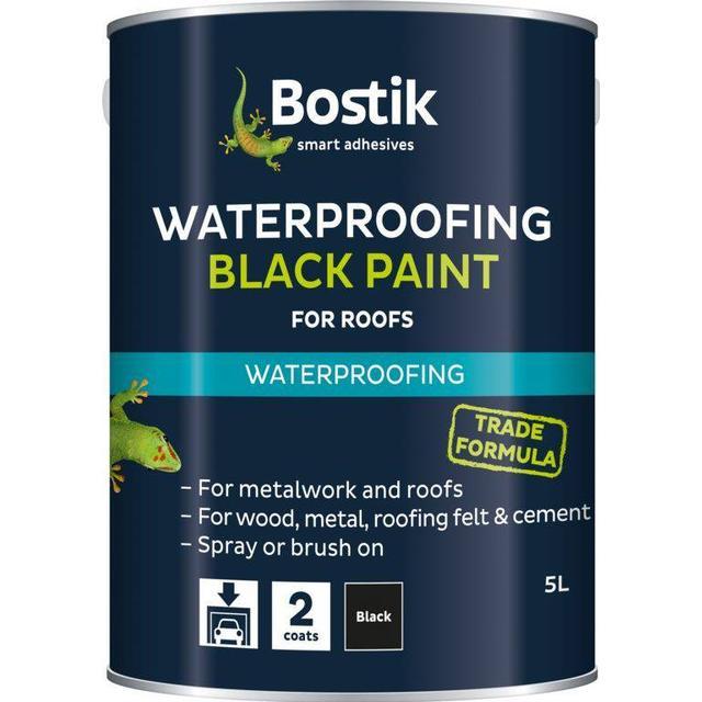 Bostik Bituminous Roof Paint Black 1L