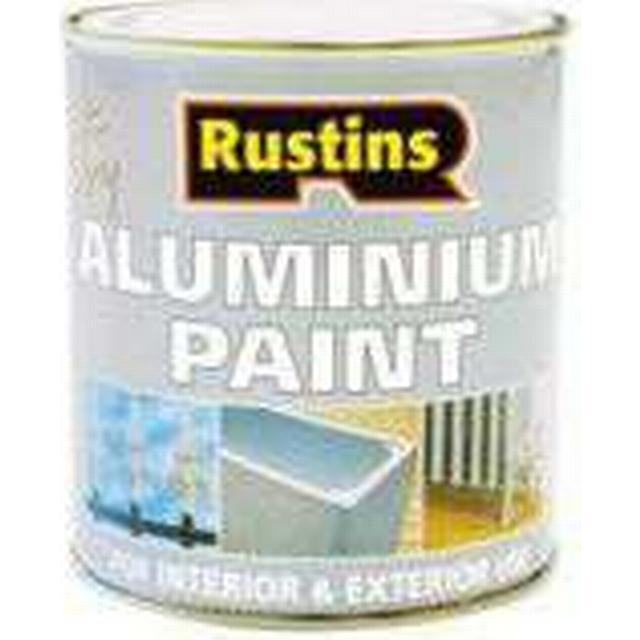 Rustins Quick Dry Aluminium Metal Paint Transparent 0.5L