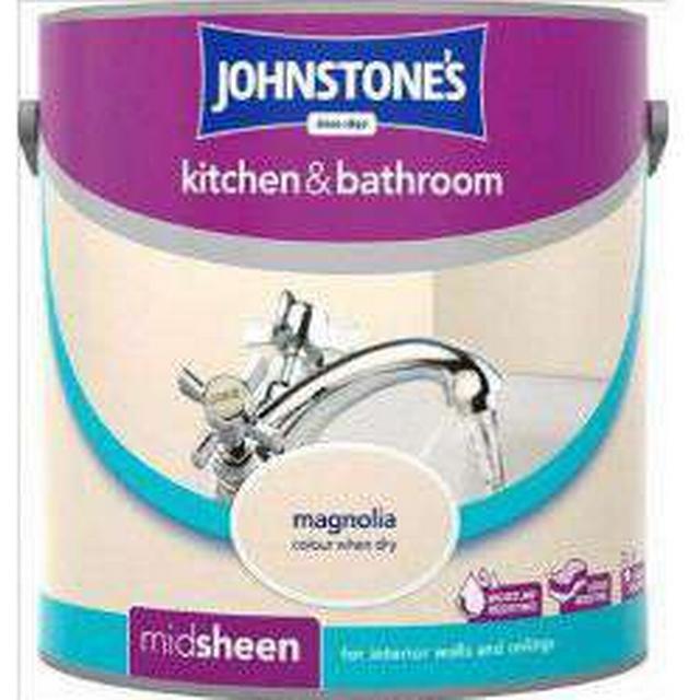 Johnstones Kitchen & Bathroom Wall Paint, Ceiling Paint Beige 2.5L