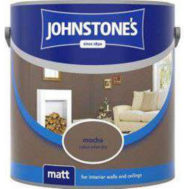 Johnstones Matt Wall Paint, Ceiling Paint Brown 2.5L