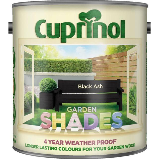 Cuprinol Garden Shades Wood Paint Black 2.5L