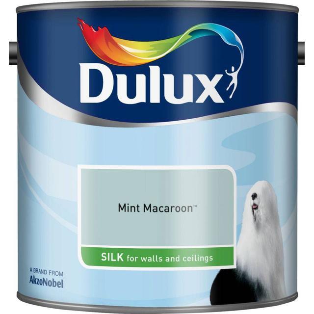 Dulux Silk Wall Paint, Ceiling Paint Green 2.5L