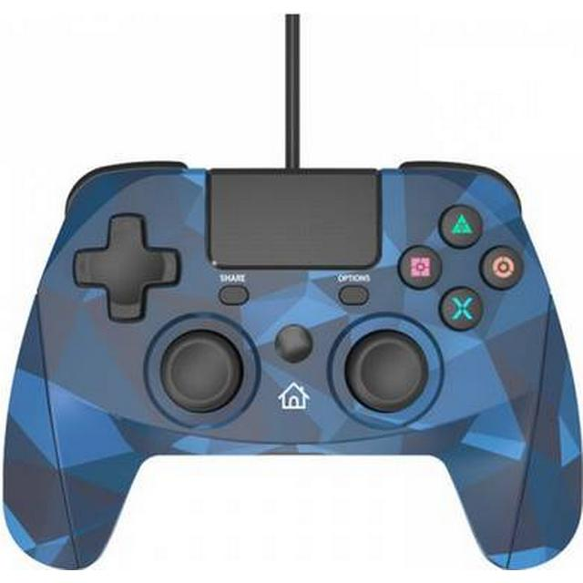 Snakebyte Wired Gamepad (PS 4) - Camo Blue