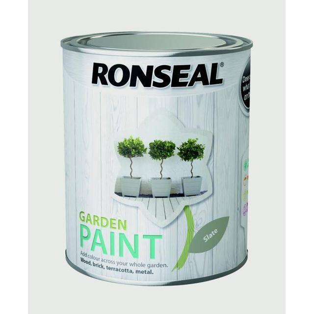 Ronseal Garden Wood Paint Grey 0.75L