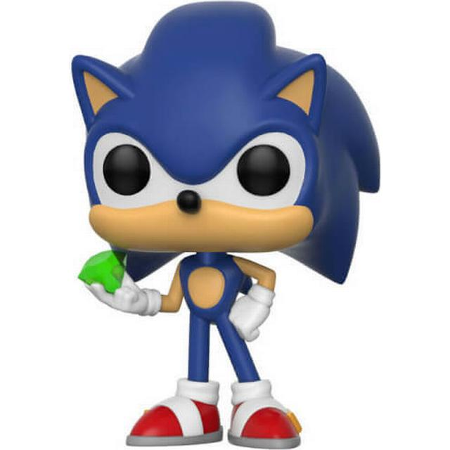 Funko Pop! Games Sonic the Hedgehog Sonic with Emerald