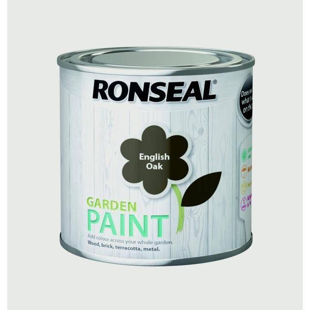 Ronseal Garden Wood Paint Brown 0.25L
