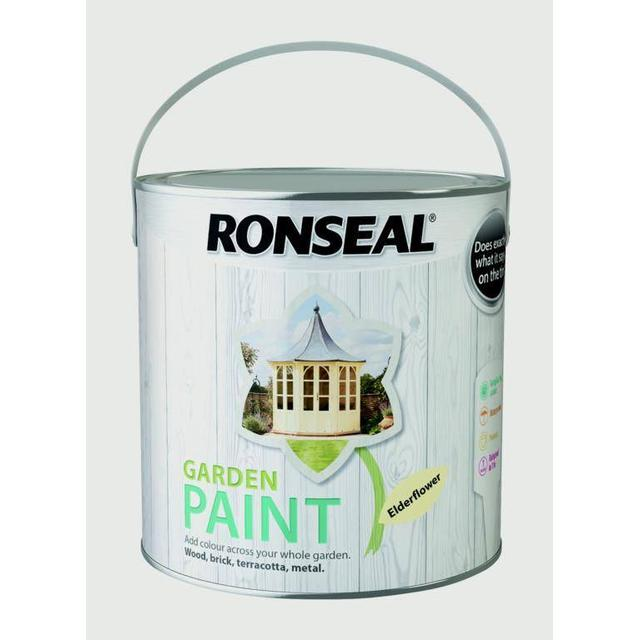 Ronseal Garden Wood Paint Off-white 2.5L