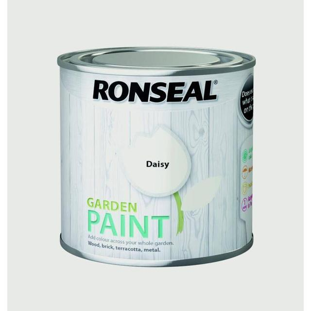 Ronseal Garden Wood Paint Off-white 0.25L