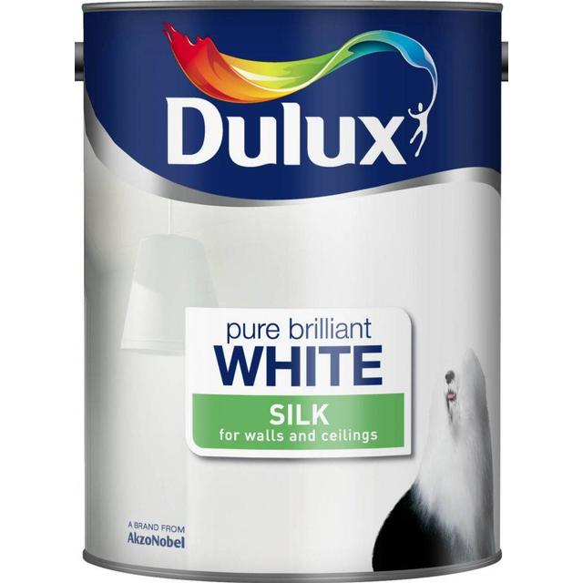 Dulux Silk Wall Paint, Ceiling Paint White 5L