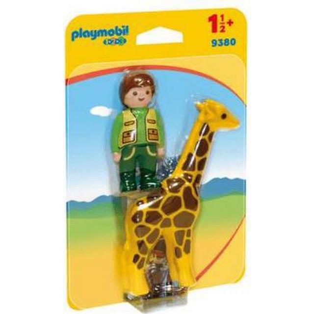 Playmobil Zookeeper with Giraffe 9380