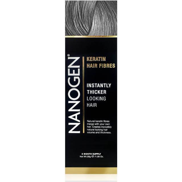 Nanogen Keratin Hair Fibres Grey 30g
