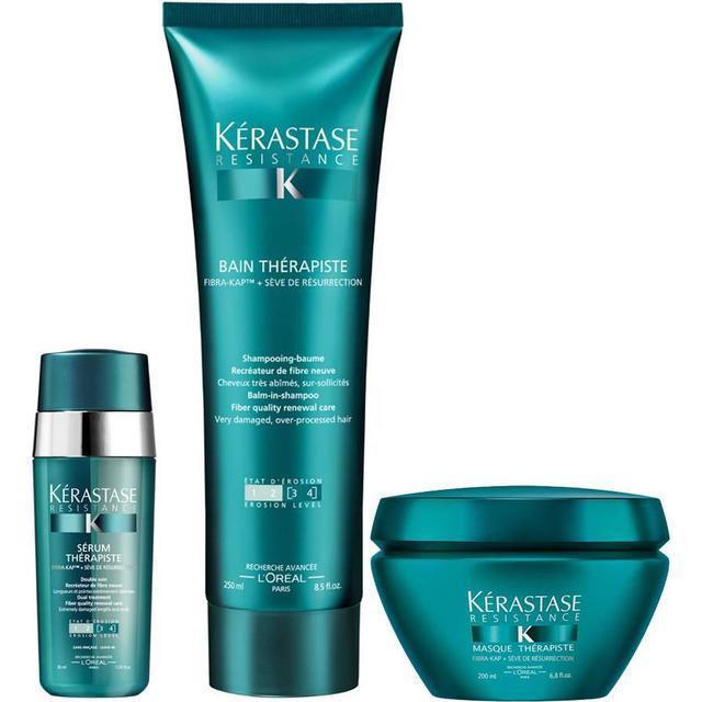 Kérastase Resistance Therapiste Shampoo, Masque & Serum Trio