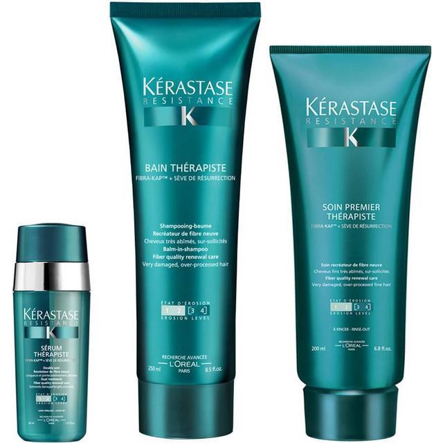 Kérastase Resistance Therapiste Shampoo, Conditioner & Serum Trio
