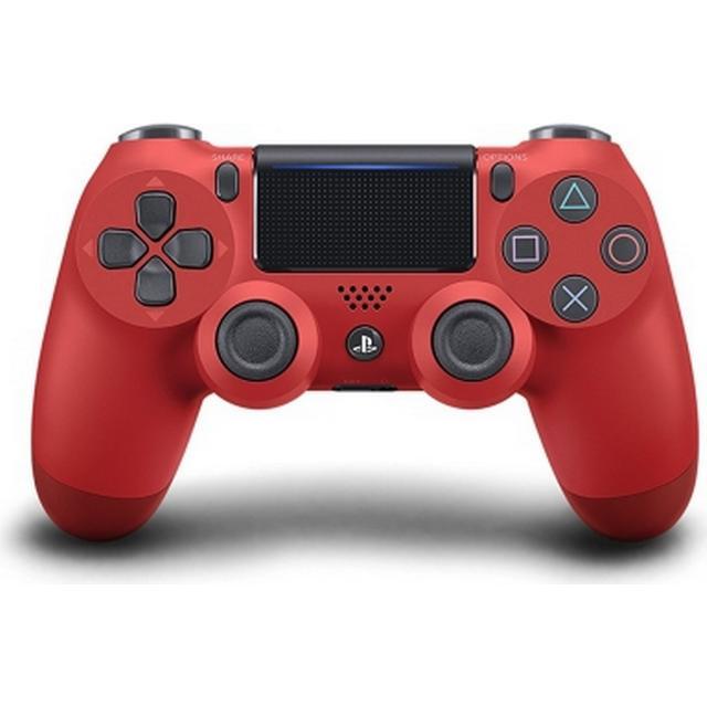 Sony DualShock 4 V2 - Magma Red (PlayStation 4)