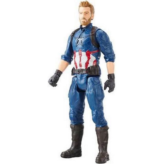 Hasbro Marvel Infinity War Titan Hero Series Captain America with Titan Hero Power FX Port E1421