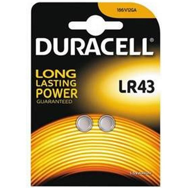 Duracell LR43 Compatible 2-pack