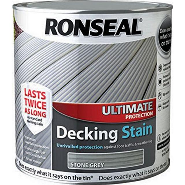 Ronseal Ultimate Protection Decking Woodstain Grey 2.5L