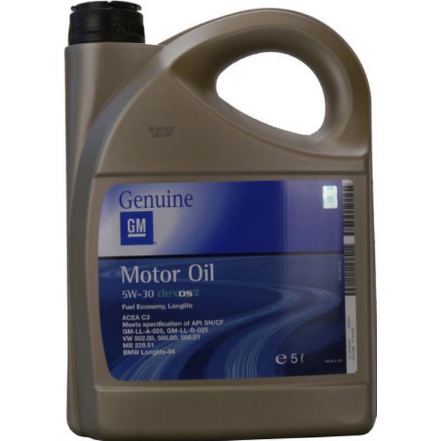 GM Opel 5W-30 Dexos 2 Fuel Economy Longlife 5L Motor Oil