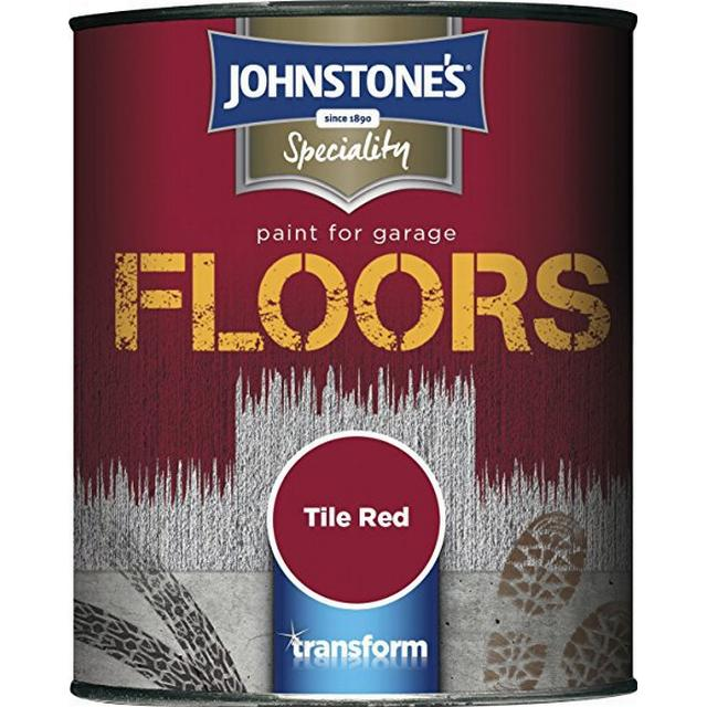 Johnstones - Floor Paint Red 0.75L