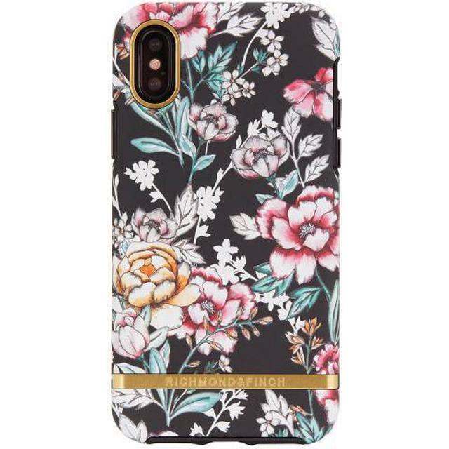 Richmond & Finch Black Floral Freedom Case (iPhone X)