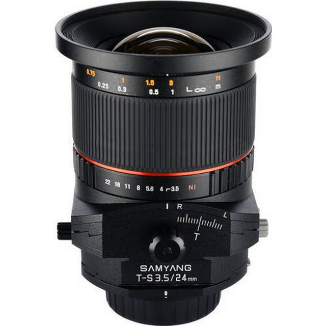Samyang T-S 24mm f/3.5 ED AS UMC for Canon EF