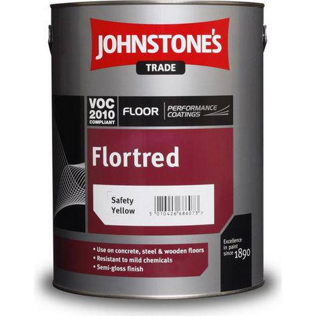 Johnstone's Trade Flortred Floor Paint Yellow 5L