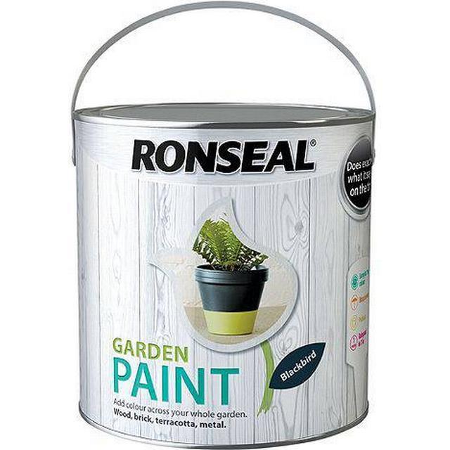 Ronseal Garden Wood Paint Black 2.5L