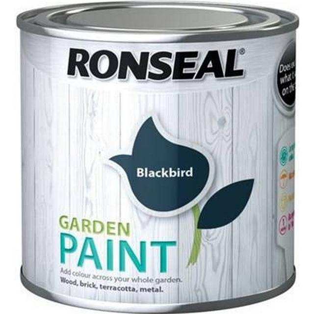 Ronseal Garden Wood Paint Blue 0.25L