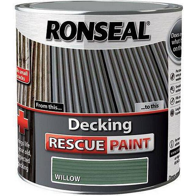 Ronseal Decking Rescue Wood Paint Green 2.5L