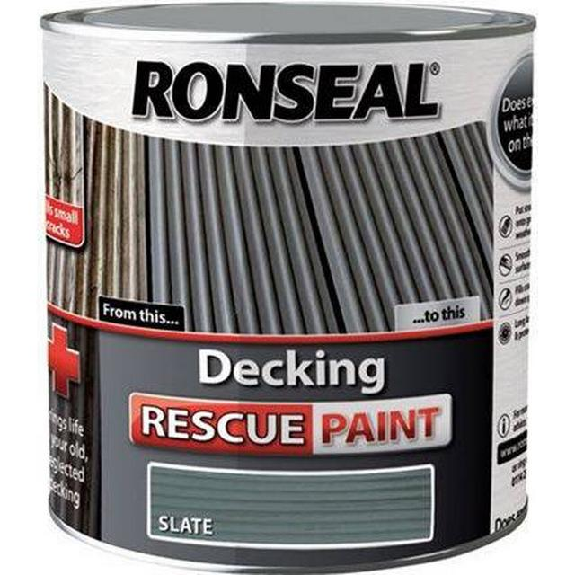 Ronseal Decking Rescue Wood Paint Grey 5L