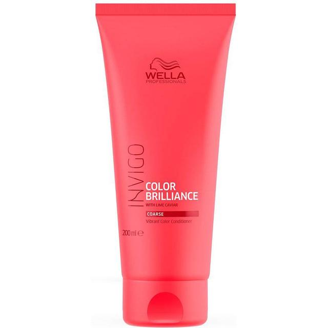Wella Invigo Color Brilliance Vibrant Color Conditioner for Coarse Hair 200ml