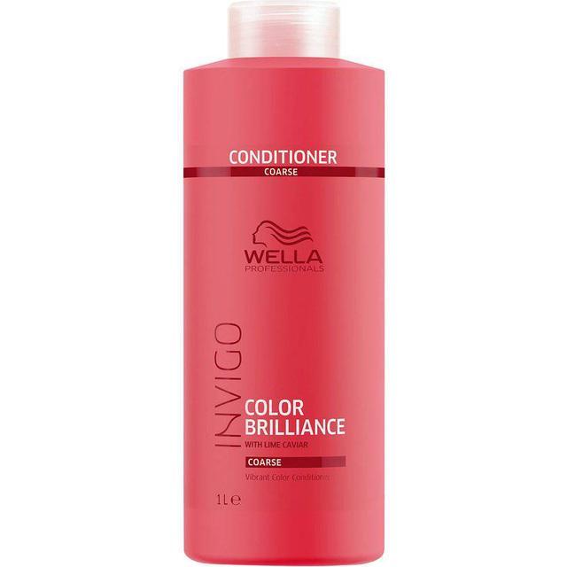 Wella Invigo Color Brilliance Vibrant Color Conditioner for Coarse Hair 1000ml