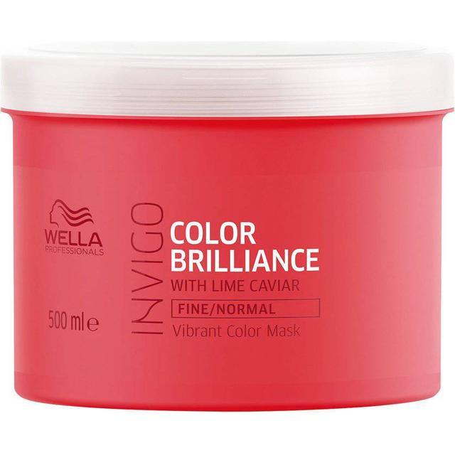 Wella Invigo Color Brilliance Vibrant Color Mask Fine/Normal Hair 500ml