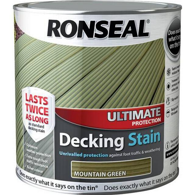 Ronseal Ultimate Protection Decking Woodstain Green 2.5L