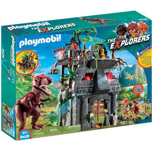 Playmobil Hidden Temple with T Rex 9429