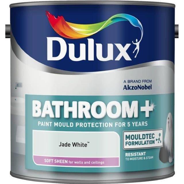 Dulux Easycare Bathroom Soft Sheen Wall Paint, Ceiling Paint White 2.5L