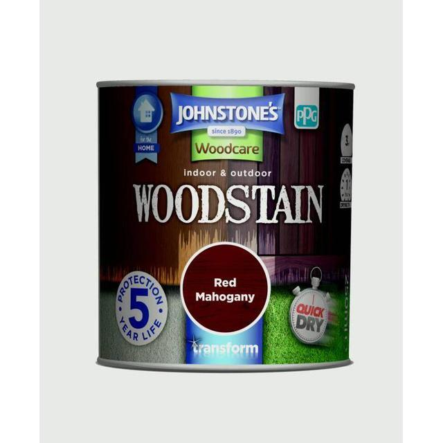 Johnstones Woodcare Woodstain Brown 0.25L