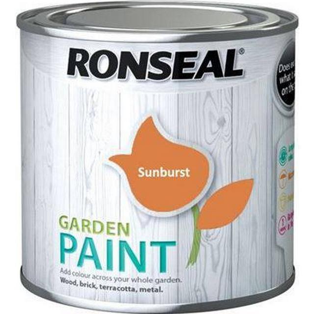 Ronseal Garden Wood Paint Orange 0.75L