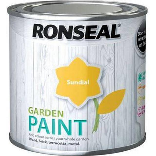 Ronseal Garden Wood Paint Yellow 0.75L